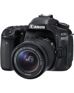 Canon EOS 80D kit 18-55mm IS STM
