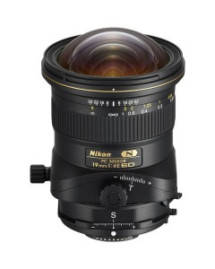 Nikon PC NIKKOR 19mm f/4E ED Tilt-Shift