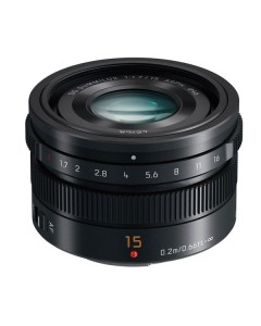 Panasonic 15mm f/1.7 ASPH. Leica DG Summilux