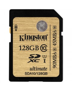 Kingston 128GB SDXC C10 UHS-I 90MB/s