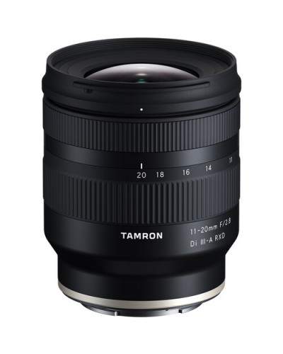 Tamron 11-20mm f/2.8 Di III-A RXD For Sony E